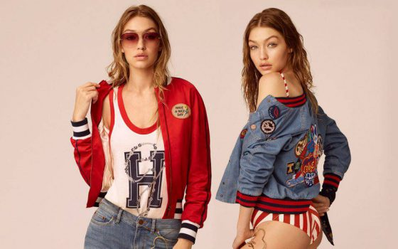 TOMMY HILFIGER X GIGI HADID, I LOVE PATCHES
