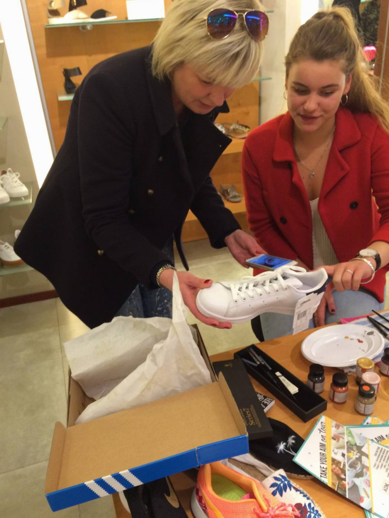 Sneakers customizen, Outstanding Fashion & Vintage Haren Groningen