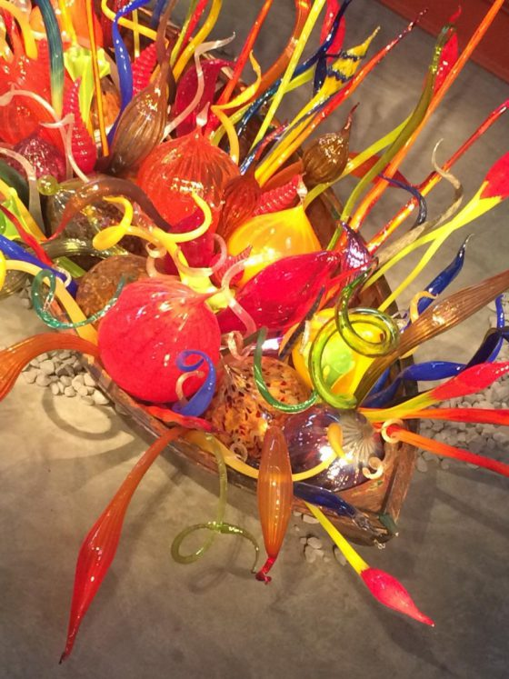 Dale Chihuly Float Boat Groninger Museum